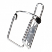 Keirin Alloy gripper bottle cage silver BOT0005